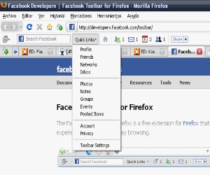 Facebook Toolbar per Firefox