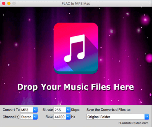 FLAC to MP3 Mac